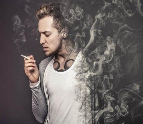 fumul de tigara