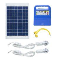 Kit radio solar