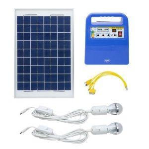 Kit fotovoltaic (radio si iluminat)