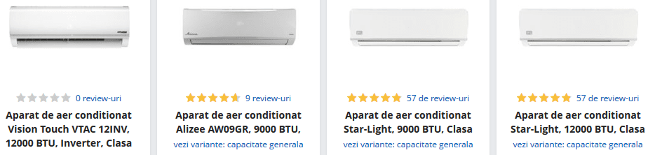 aer conditionat emag